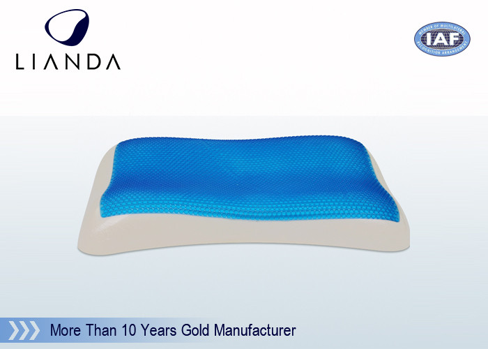 Fire Retardant Memory Foam Hydraluxe Cooling GelPillow Microfiber Fabric Outer Cover
