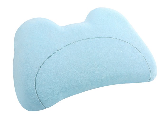Head Support Children ' s Memory Foam Pillow 500g Core Weight 100 % Cotton